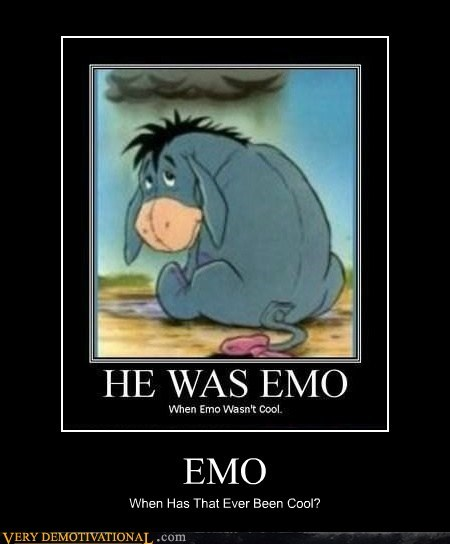EMO When Has That Ever Been Cool?