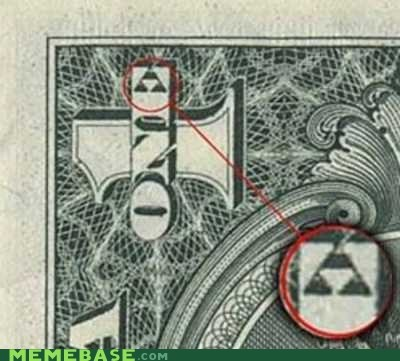 dollar Memes triforce video games zelda - 5505612032