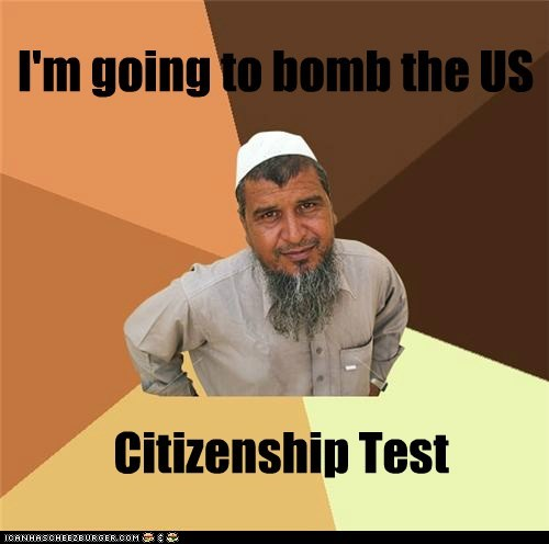I'm going to bomb the US Citizenship Test