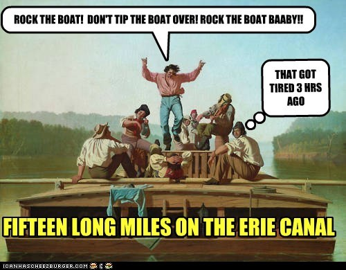 art dont-rock-the-boat erie canal historic lols painting Pete Seeger rock the boat - 5505699072