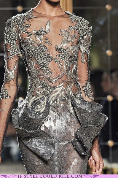 cool accessories marchesa runway silver - 5505785600