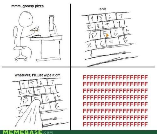 fu guy keyboard pizza Rage Comics - 5505803008