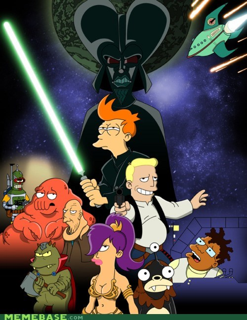 best of week crossover Fan Art futurama star wars - 5505856512