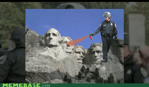 cop Essentially know your meme Pepper Spray Cop Video - 5506030848