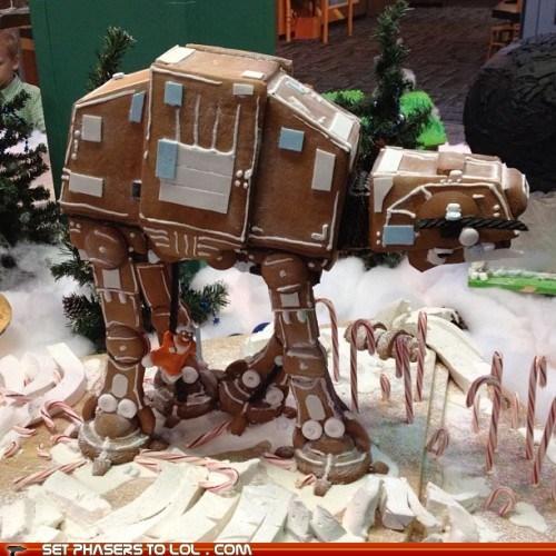 at at christmas gingerbread holidays star wars - 5506048512
