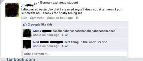 exchange student language oops sunscreen your friends are laughing at you - 5506224896
