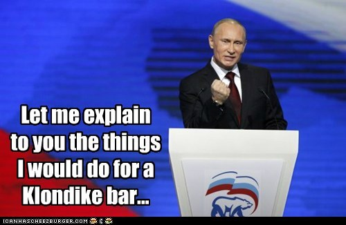 klondike bar political pictures Vladimir Putin - 5506264576