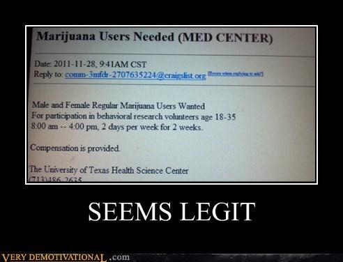 craigslist hilarious marijuana study wtf - 5506478848