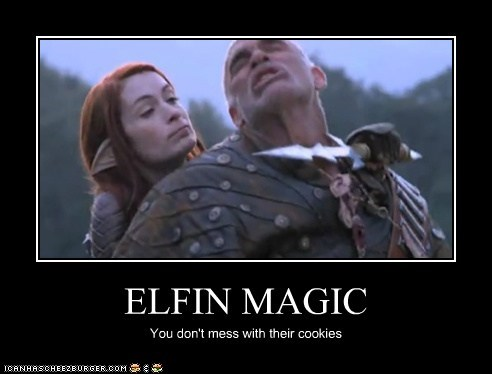 ELFIN MAGIC You don't mess with their cookies