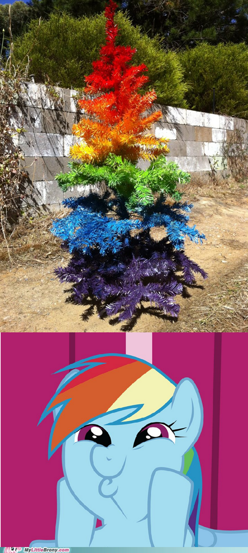 20 Percent Cooler best of week christmas tree colors holidays rainbow dash - 5506519040