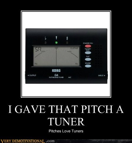 Hall of Fame,hilarious,korg,pitch,the ladies,tuner
