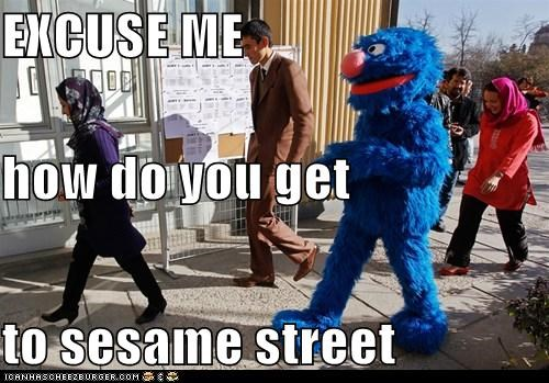 grover,political pictures,Sesame Street