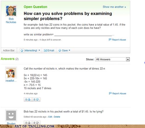 math nickles wtf Yahoo Answer Fails - 5506813696