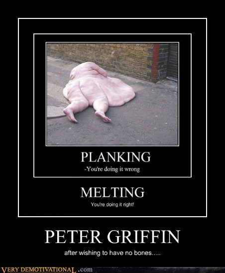 eww family guy hilarious no bones Peter Griffin - 5506875392
