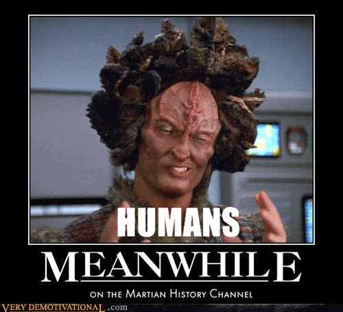 Aliens history channel Meanwhile - 5506959104