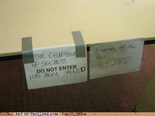 bathroom chamber of secrets Harry Potter IRL - 5507132928