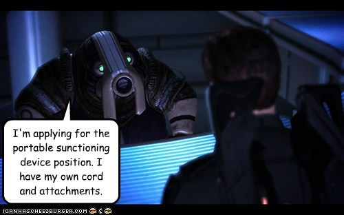 attachments,commander shepard,mass effect,vacuum,volus