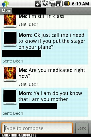 autocorrect medication mobile mother Parenting Fail phone text