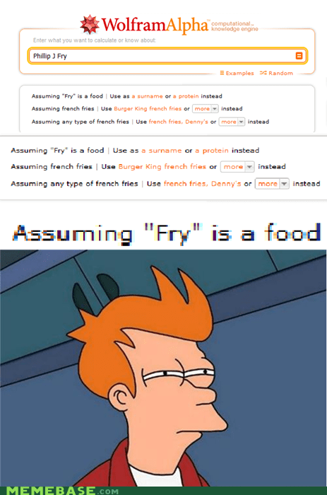 food,fry,wolfram alpha