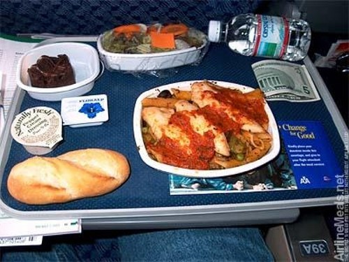 airplane food american airlines Othon Cortes whats-the-deal - 5508362240