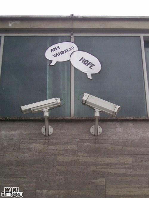 camera CCTV comic hacked irl security camera - 5508678912
