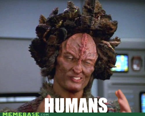 ancient aliens,humans,nice,pizza,Star Trek,vegetable