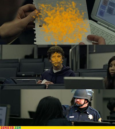 meme,Pepper Spray Cop,so careless,social network,the internets