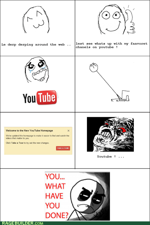 internets,new look,Rage Comics,youtube