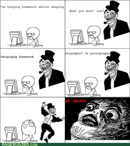 faptimes homework Rage Comics troll dad - 5508858112