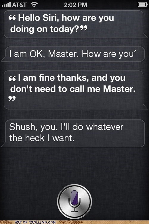 iphone master siri