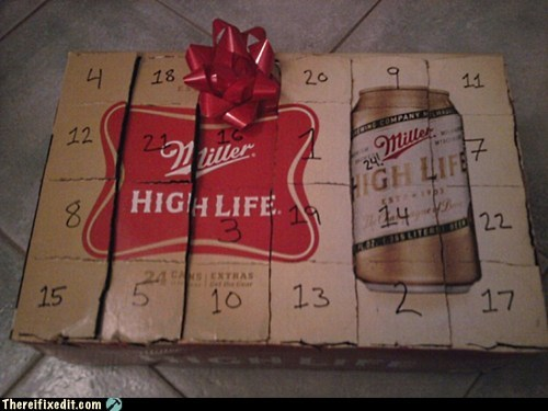 advent calendar,alcohol,beer,christmas,Hall of Fame,holidays,there I fixed it