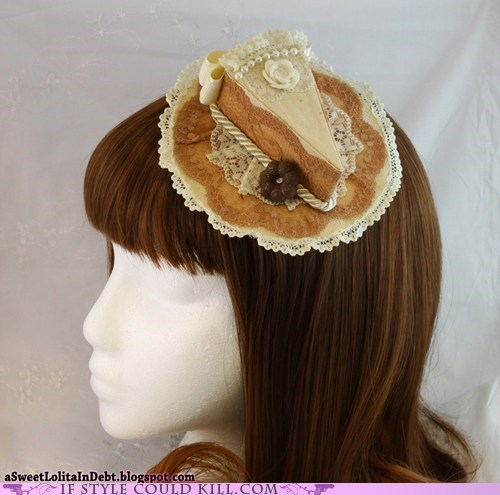hat lace lolita pie pumpkins - 5509056256