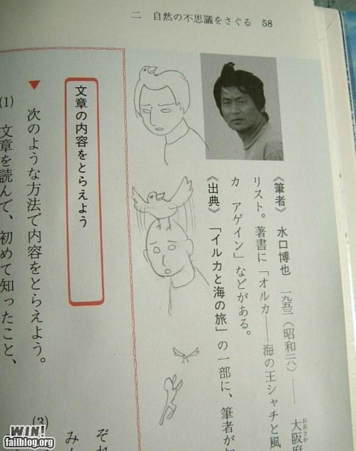 bird cartoons doodle hair margin oh Japan sketch - 5509107200
