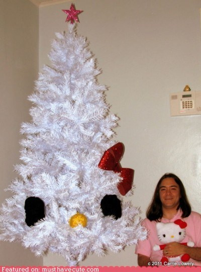 best of the week christmas tree dedicated hello kitty minimal superfan - 5509157888