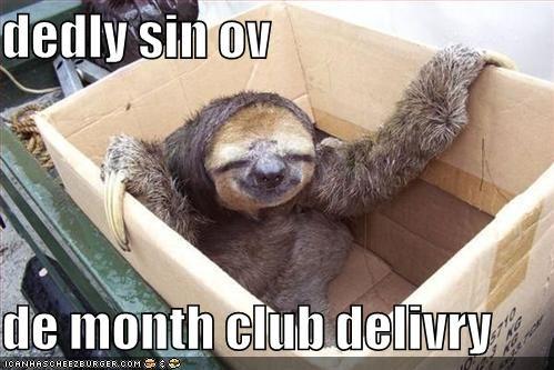 religion sins sloths - 550919424
