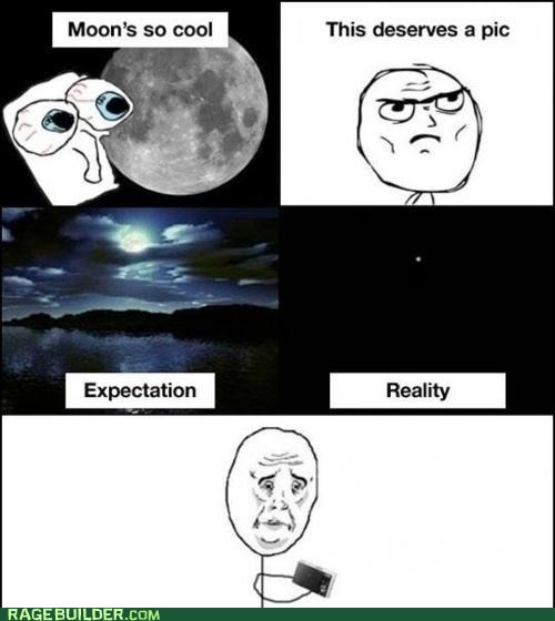 best of week,moon,Okay,Photo,Rage Comics,Sad