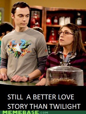big bang theory,love,Memes,nerds,twilight