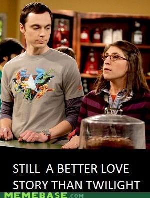 big bang theory love Memes nerds twilight - 5509308160