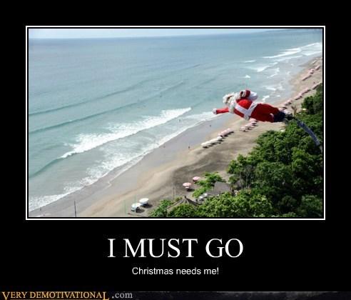 bungee jumping flying hilarious santa - 5509447168