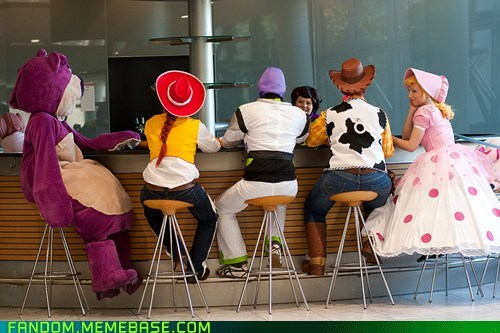 bo peep,buzz lightyear,cosplay,disney,pixar,toy story,woody