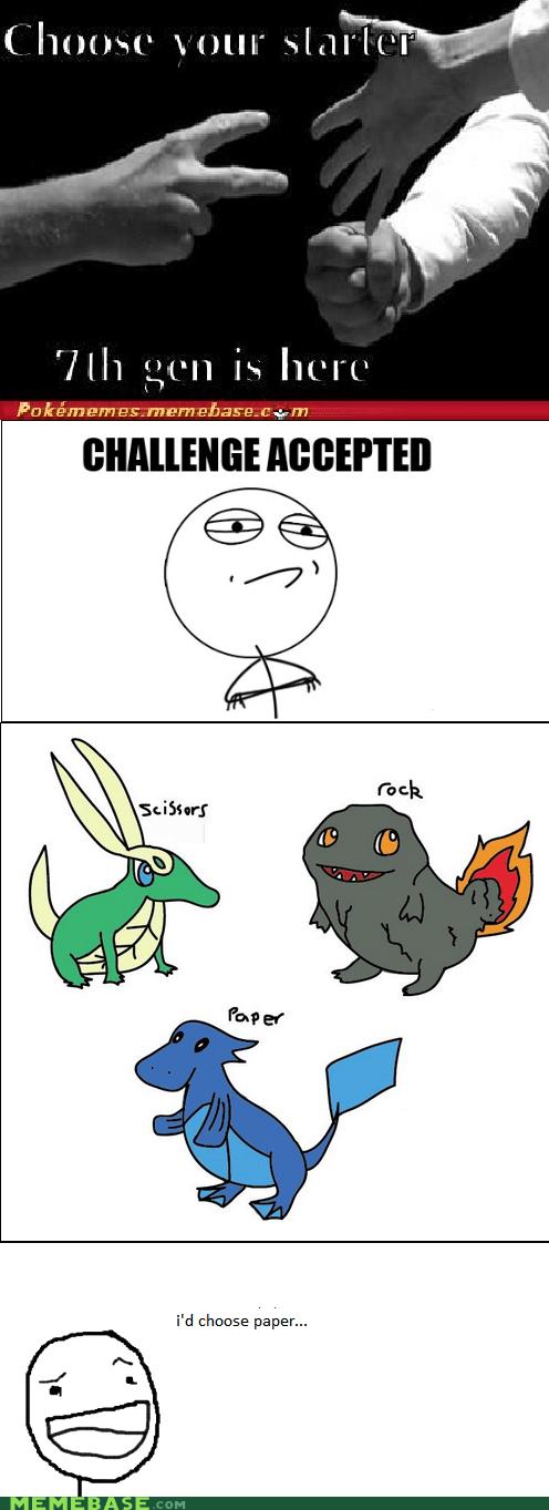 generations Memes paper Pokémemes rock scissor
