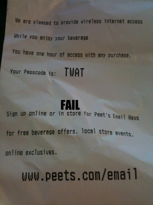 customer service password receipt swear words - 5509762304