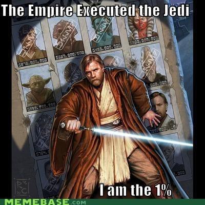 1 executed Jedi obi wan Occupy Wall Street star wars tatooine - 5509954048