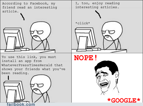 apps articles facebook failbook g rated Memes newsfeed privacy rage comic social media