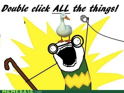 all the things double click ducks old people Reframe - 5510678016