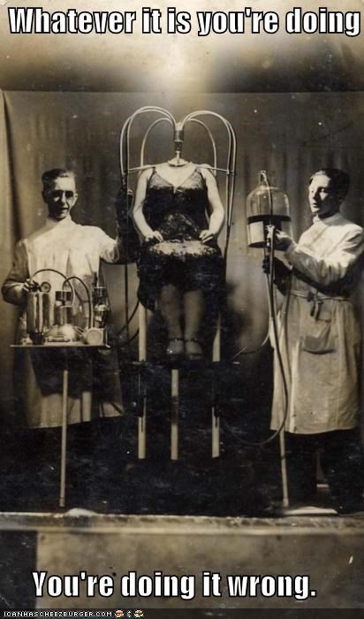 confusing experiment experimenting experiments historic lols science vintage wtf