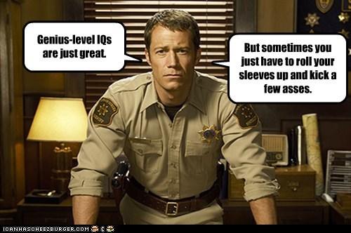Colin Ferguson eureka genius IQ kick ass sheriff jack carter - 5510869760
