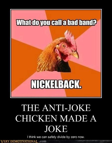 anti joke chicken divide by zero hilarious - 5511878400