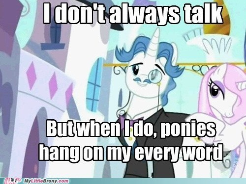 every word fancy pants meme the most interesting pony upper crust - 5512416768