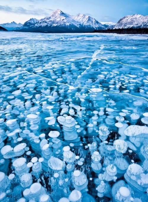 air bubbles getaways Hall of Fame ice mountains snow unknown location user submitted water white - 5512473088
